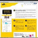 Upik : la page d'accueil